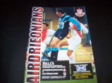Airdrieonians v Clydebank, 1999/2000